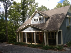 Hardy Plank Siding, Architectural shingles, Energy Star windows Professional Landscaping