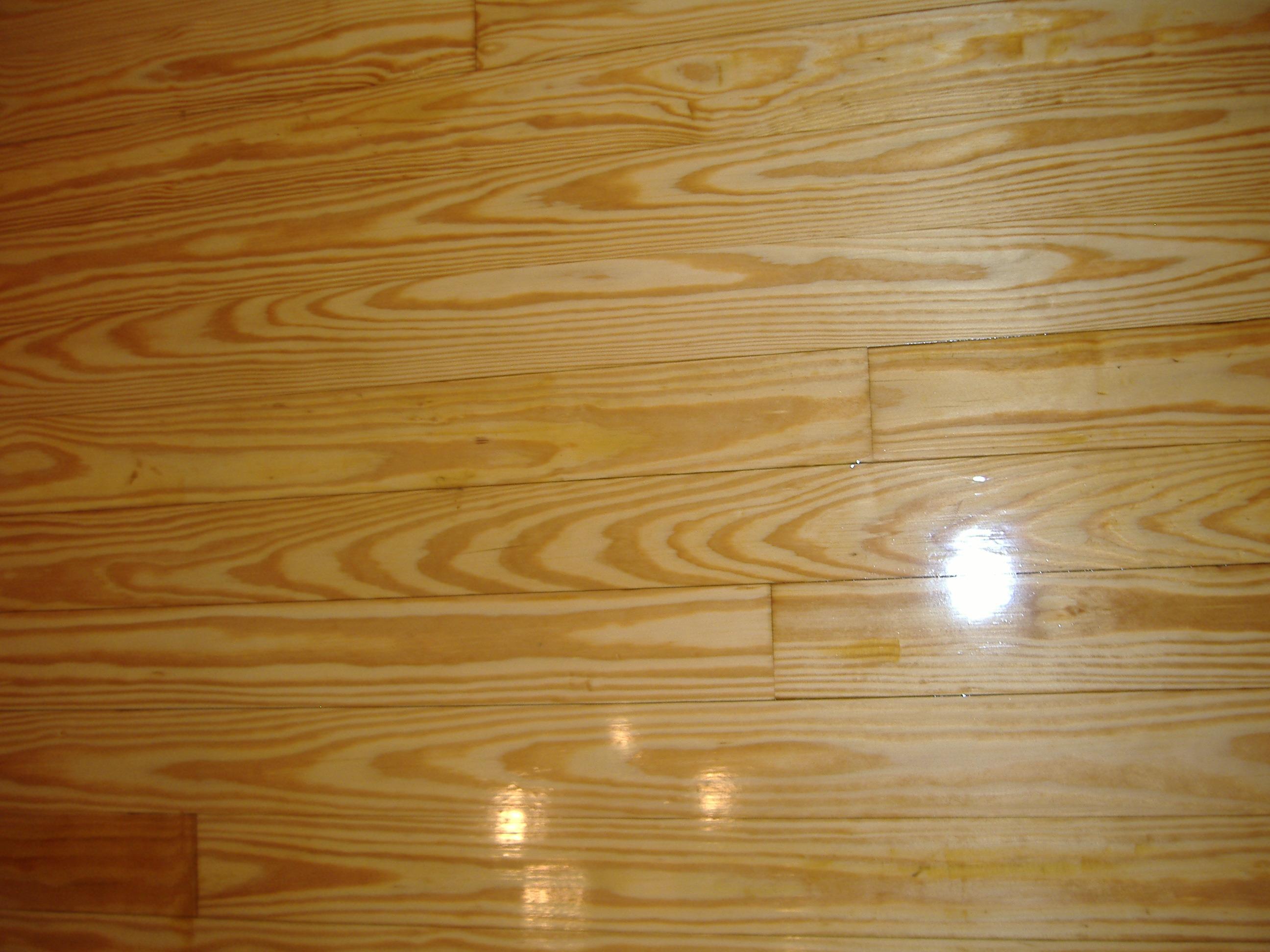 Pine Wood Floor Refinished In Ellijay Ga Gilmer County