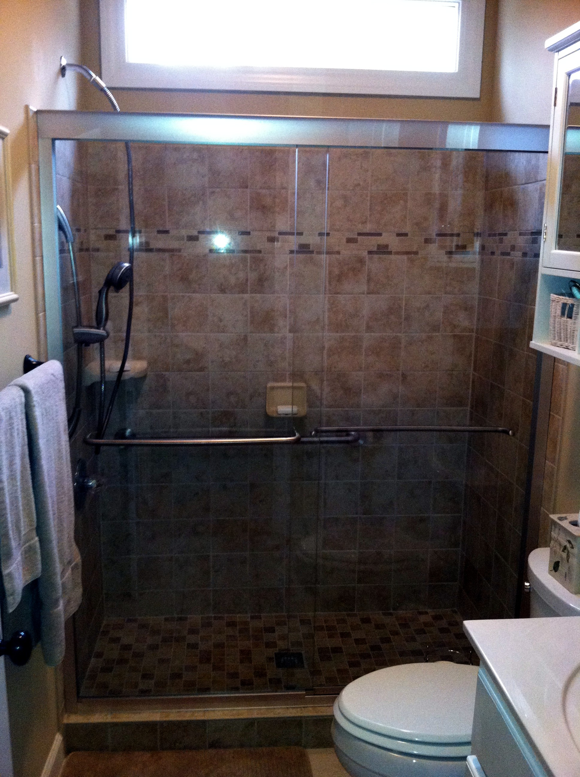 fitter shower to conversion tub bath cost