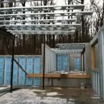 Prefab walls, Metal truss System